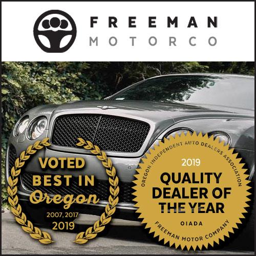 Freeman Motor Company, Portland